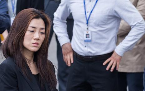 """조현민 """"죄송""""만 6번 반복... 직원들 """"진정성 없어"""" 비판"""
