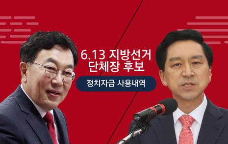 '박근혜 후원 1500' 서병수 '언론 광고 17회' 김기현