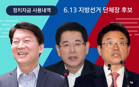 '정품사랑' 안철수 - '후원사랑' 김영록 - '상장사랑' 이철우