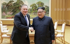 """폼페이오 """"북한, 핵 폐기하면 한국과 동등한 번영 누릴 것"""""""