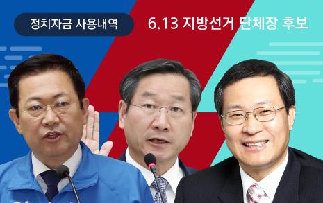 '현수막왕' 박남춘  '당직자 챙기기' 유정복  '안철수의 입' 문병호