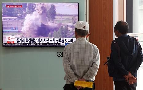 핵실험장 폐기는 예정대로... 남측 기자만 빼나?