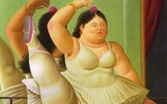 그는 결코 '뚱뚱한' 발레리나를 그린 게 아니다