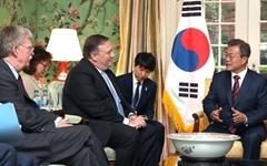 폼페이오 국무장관, 14일 문재인 대통령 만난다