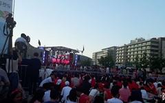 [모이] 러시아월드컵 광화문광장 거리응원전, 사람 많네요