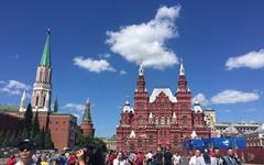 [모이] 붉게 물든 러시아 붉은광장