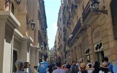 바르셀로나 길거리에 세월호 노란리본? 이유가 있었다