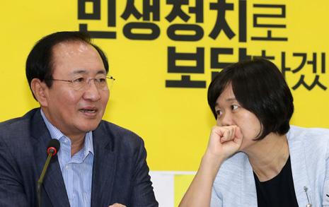 지방선거 운동원이 본  정의당 지지율 고공행진