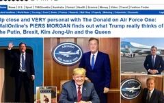 """트럼프 """"김정은, 영리하고 훌륭한 협상가... 난 평화 원해"""""""