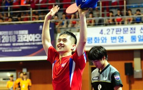 '하루 4경기' 괴력의 함유성, 북한에 첫 우승 안겼다