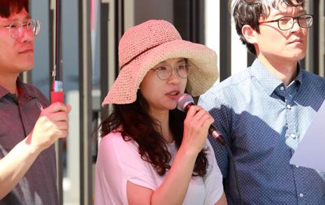 엄마이자 교사인 나 '22년 대입제도' 반대한다
