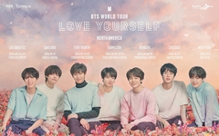 방탄소년단, 미국 첫 공연... 시티필드 예매 4만석 매진