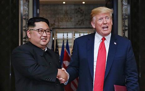 """트럼프 """"2차 북미정상회담 가능성 높아"""""""