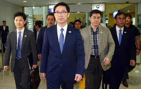 개성공단 기업인, 남북연락사무소 개소식 참석