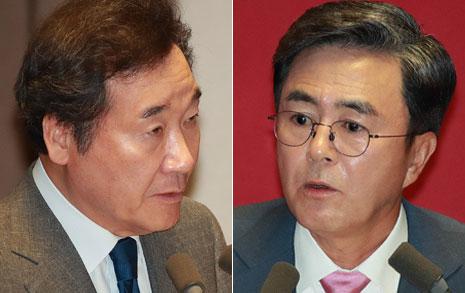김태흠의 정치공세 맞받은 이낙연의 '정치언어'