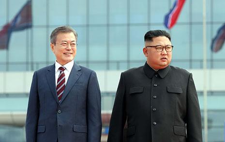 '평양의 심장' 조선노동당 본부청사에서 남북정상회담