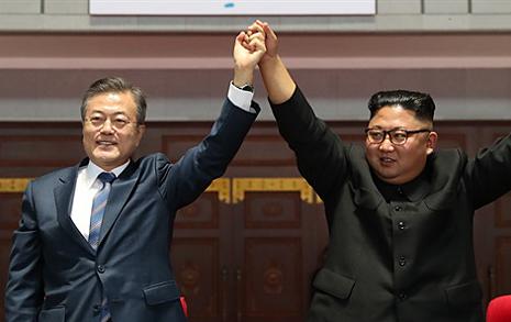 '정상회담 효과' 대통령  지지율 59.4%, TK·PK ↑