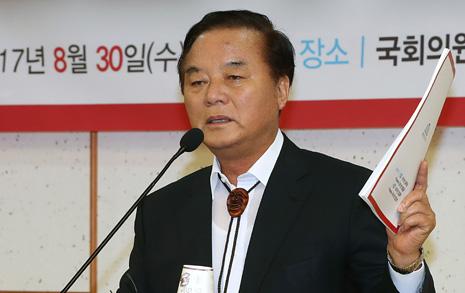 '정갑윤을 국회의장으로'? 울산 한국당의 승부수