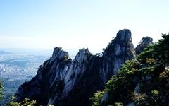 [사진] 도봉산 오봉에도 '단풍' 물들었다