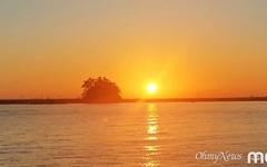 [사진] 황금빛 노을에 물든 태안반도