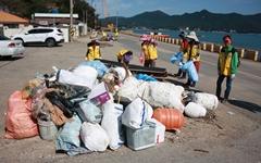 통영환경운동연합, 해양쓰레기 정화작업 벌여
