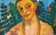 서양미술사 통틀어 최초, 누드 자화상 그린 여자