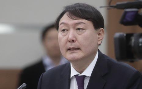 """'국감 파격' 윤석열 """"노회찬 애도, 바른검찰 될 것"""""""