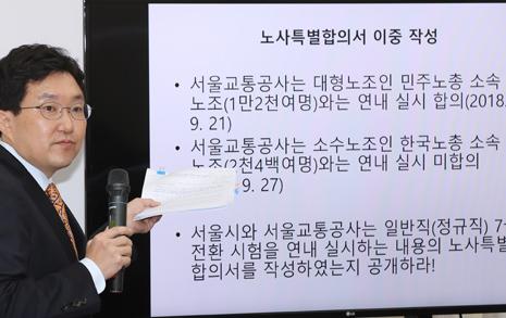 서울교통공사 채용 비리 의혹, 주요 쟁점 다섯 가지