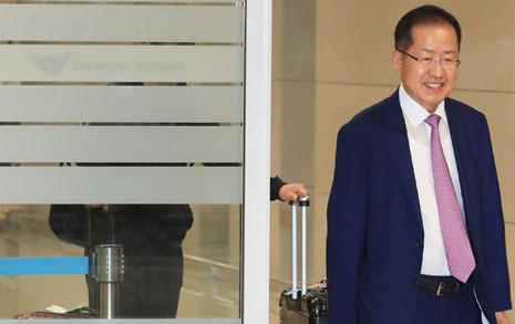 '홍카콜라' 준비 홍준표, '인터넷 찌질이' 언급 이유