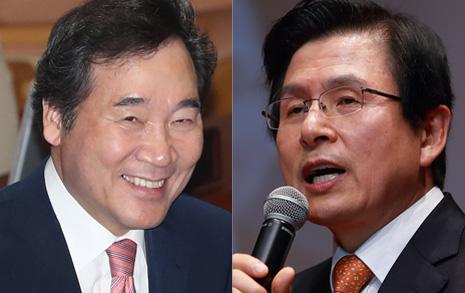 '진보' 이낙연 1위, '보수' 황교안 독주 강해졌다