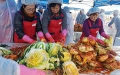 [홍성] 폭우속에서 김장하는 여성 농민들, 왜?