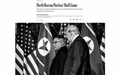 트럼프 '북한 가짜뉴스' 비판에 NYT·WP 재반박