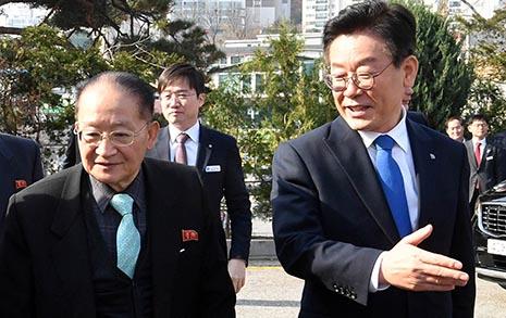 황교익 자문으로 차려진 이재명·리종혁 '장단 평화밥상'