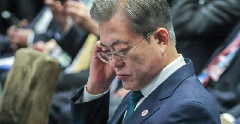 싱가포르에서 '로힝야족 난민' 언급한 문 대통령
