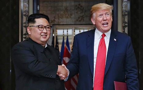 """미 국무부 """"실수 반복하지 않으려 북한과 '정상 대 정상' 협상"""""""
