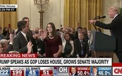 트럼프와 설전 후 쫓겨난 CNN 기자, 백악관 다시 출입