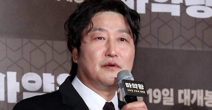 """""""꿈의 캐스팅, 송강호 덕"""" '마약왕' 감독 말에, 송강호 답은"""