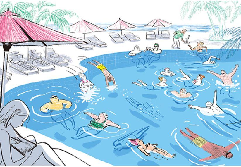 수영 배우기 딱 좋은 계절이네요, 그쵸?