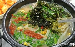 [모이] 김자반을 돼지국밥에 솔솔... 은근 매력 있어