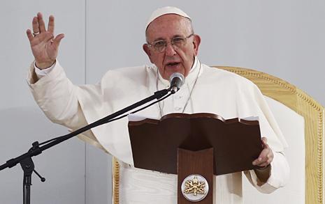 교황은 도대체 왜 그런 말을 했을까?