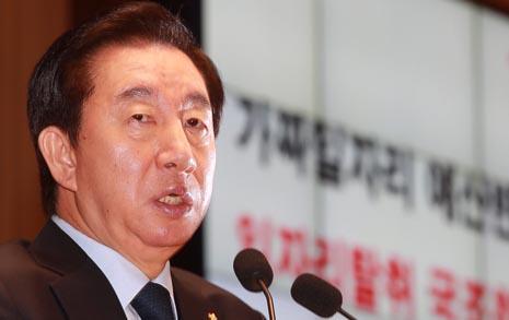 임기 하루 앞둔 김성태,  5.18 조사위원 추천 또 미루나