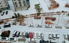 [사진] 눈 내린 거리, '온 세상이 하얗게 변해'