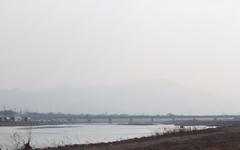 [모이] 경주지역 초미세먼지 '나쁨' 수준