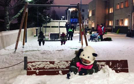 -10도에도 바깥놀이하는 아가들, 한국과 다른 것들