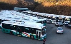 진주 시내버스 상당수 멈춰 ... 유가보조금 논란