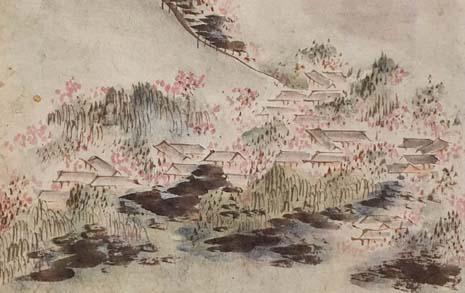 조선시대 한양 최고의 꽃놀이 장소, '필운대'