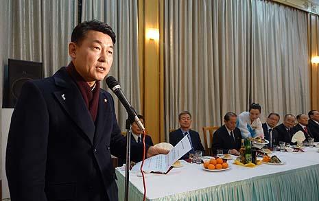 """북으로 간 자유한국당 의원 """"부질없는 일 되지 않길"""""""