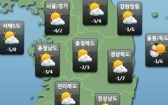 [주말날씨] 전국 바람불며 체감온도↓…서해안·동해안 눈소식