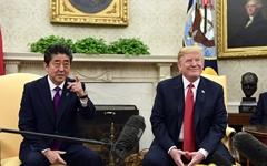 """트럼프 """"아베가 나를 노벨평화상 후보로 추천"""" 깜짝 발표"""