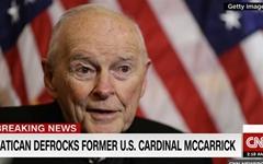 교황청, 아동 성 학대 미국 전 추기경 사제직 박탈